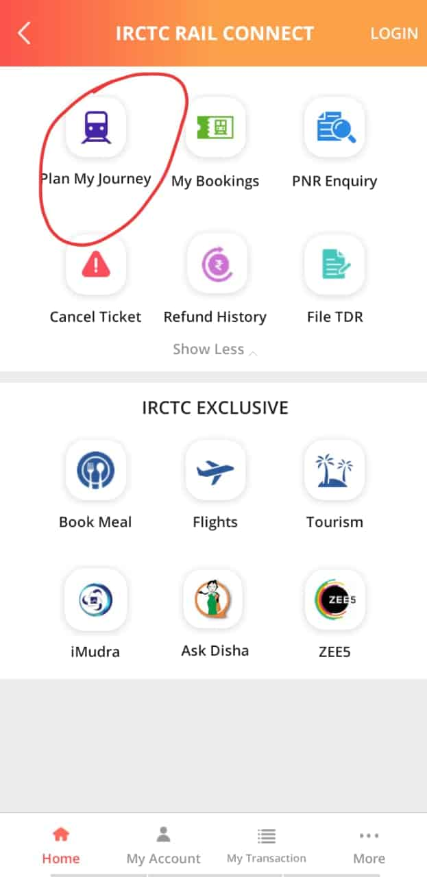 How to book E tickets on IRCTC Step 6 TechSpy
