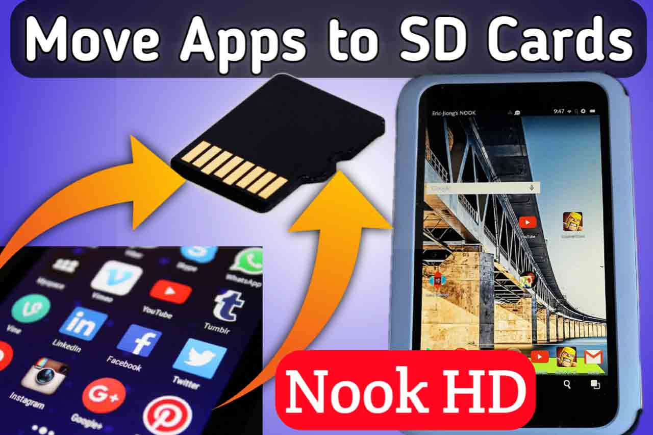 How To Move Apps to SD Card on Nook HD