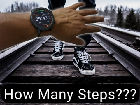 How many steps will be recorded on the Smartwatch in a 5k TechSpy