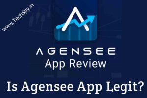 agensee app, agensee app review, Is Agensee app legit TechSpy